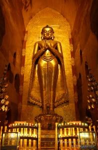 Buddha inside Ananda