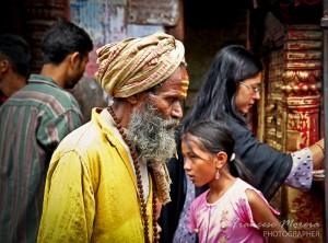 Sadhu at Kathmandu