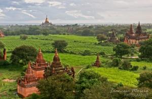 Views from Shwesandaw Paya