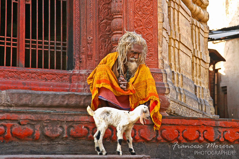 Santon en Varanasi