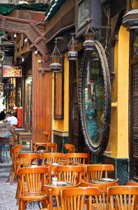 Cafe Fishawy en Khan el-Khalili