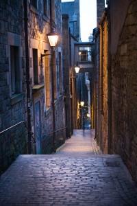 Callejones de la Old Town, by Kim Traynor.