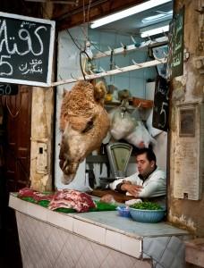 Carniceria en Fez