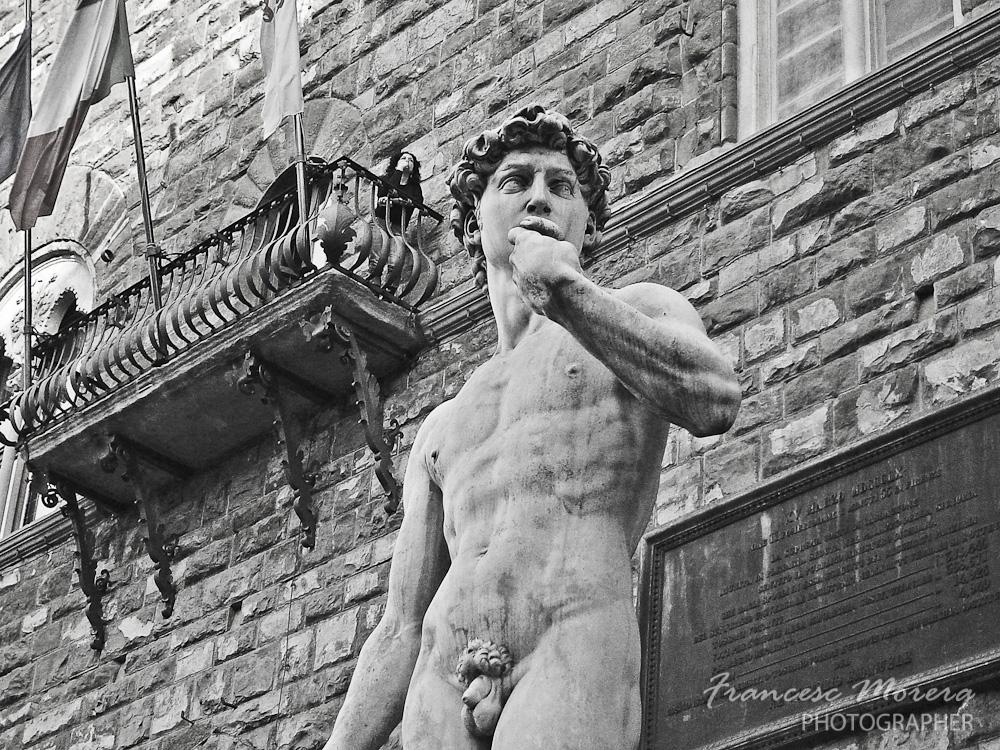 David en el Palazzo Vecchio