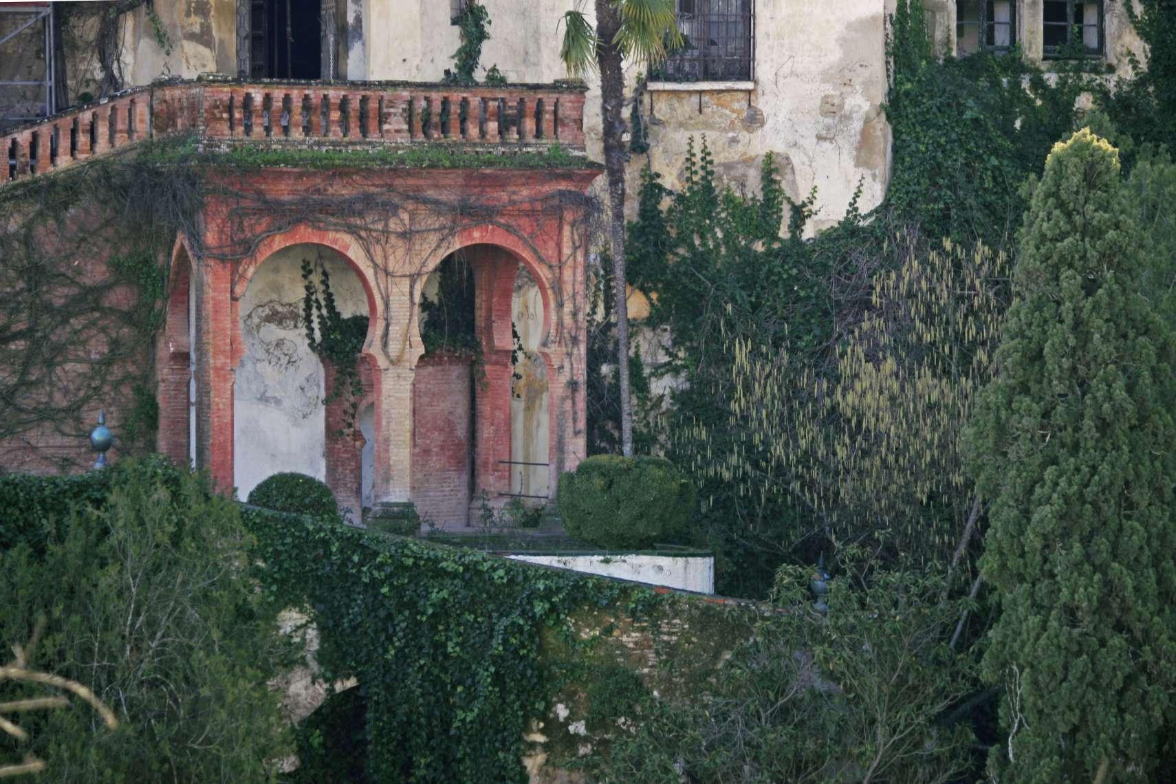 Detalle del exterior del Palacio