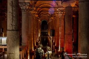 Yerebatan Sarnici, la Cisterna escondida en el subsuelo de Sultanhamed