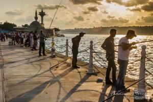 La pesca, la afición preferida en Estambul