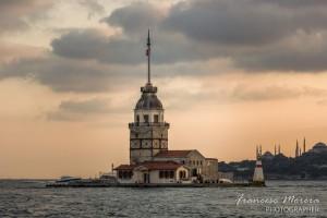 La torre de Leandro, antiguo faro bizantino del siglo XII