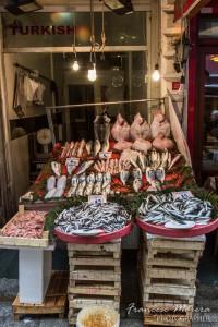 Venta de pescado en Kunkapi