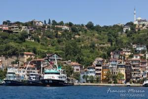 Barcos de pesca en el Bósforo