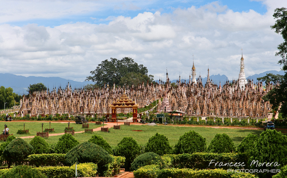 More than 2500 stupas in Kakku