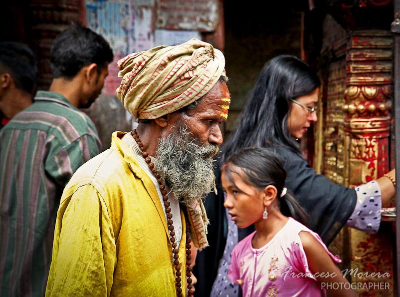Sadhu en Kathmandu
