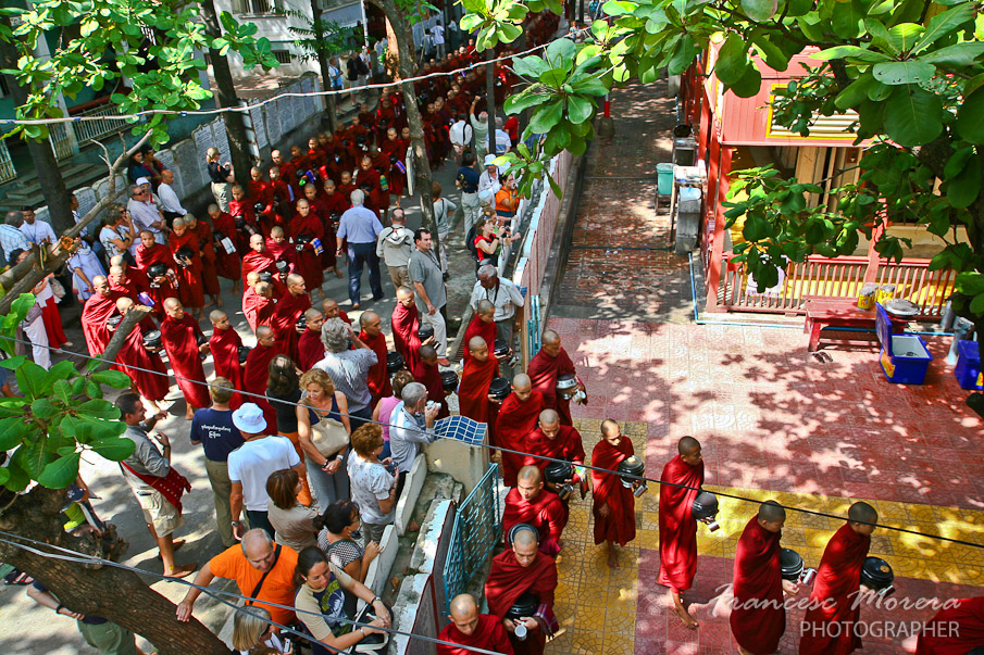 Monasterio Mahaganyon Kyaung