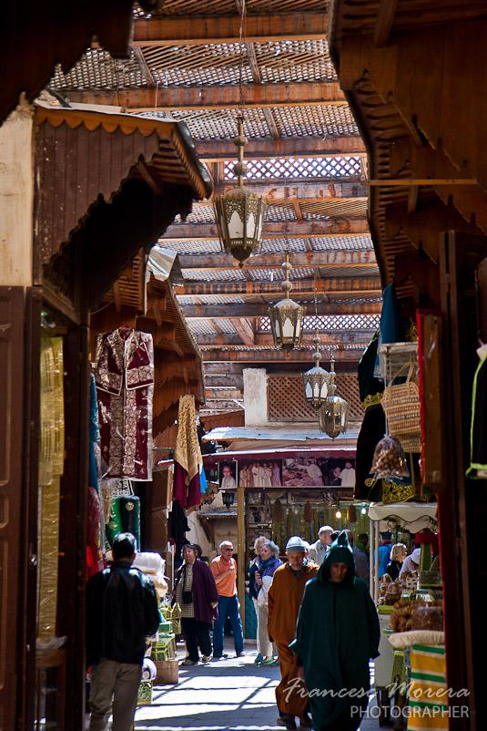 El zoco de la medina de Marrakech