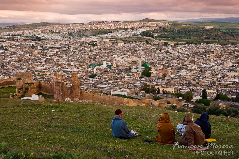 Atardecer sobre Fez