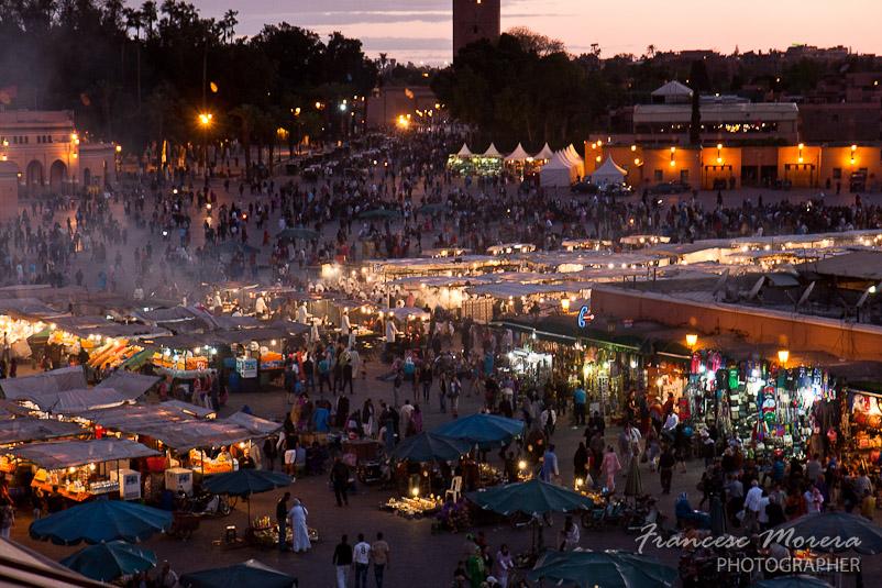 Plaza Djemna-el-Fna