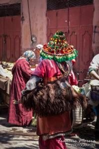 Aguador en el zoco de Marrakech