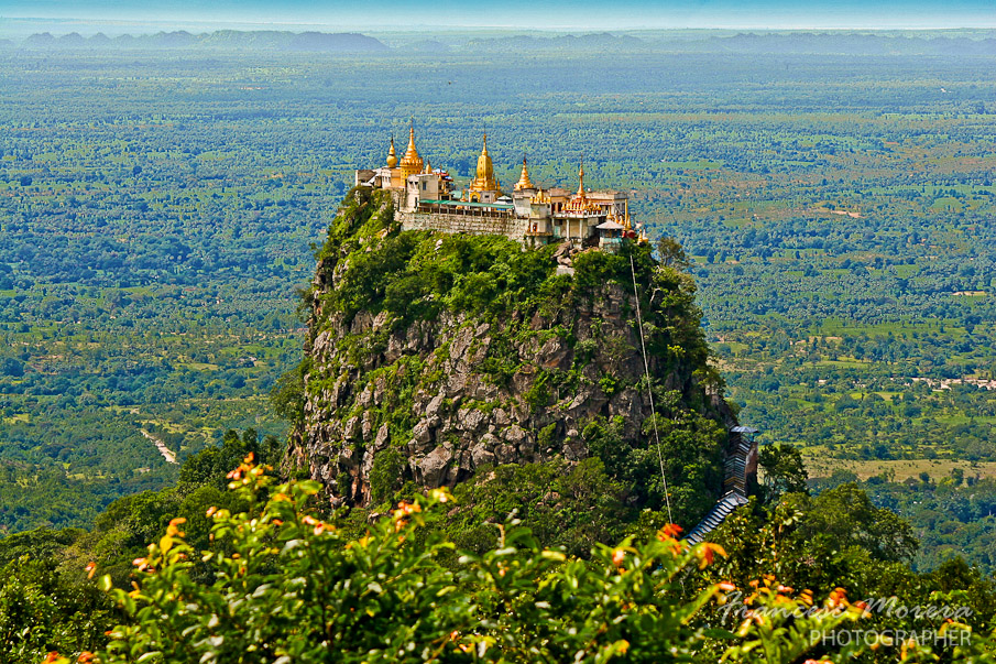 Taung Kalat from Mount Popa