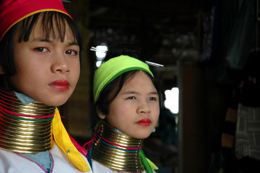 Padaung en Mae Hong Son
