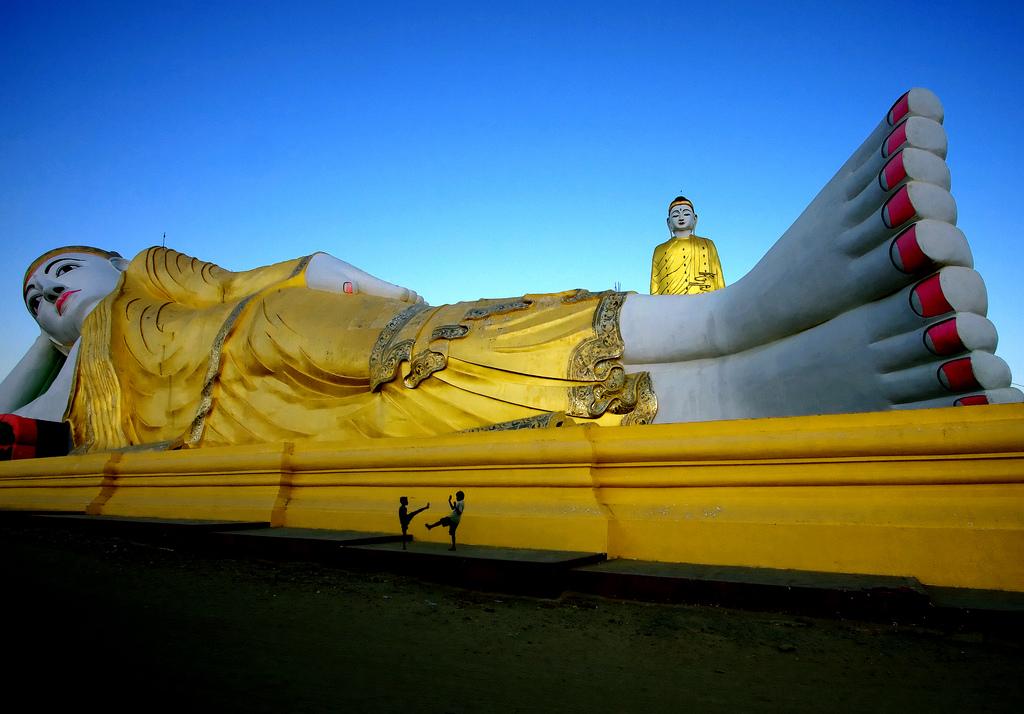 Alantayar Pagoda by Lilly Bow