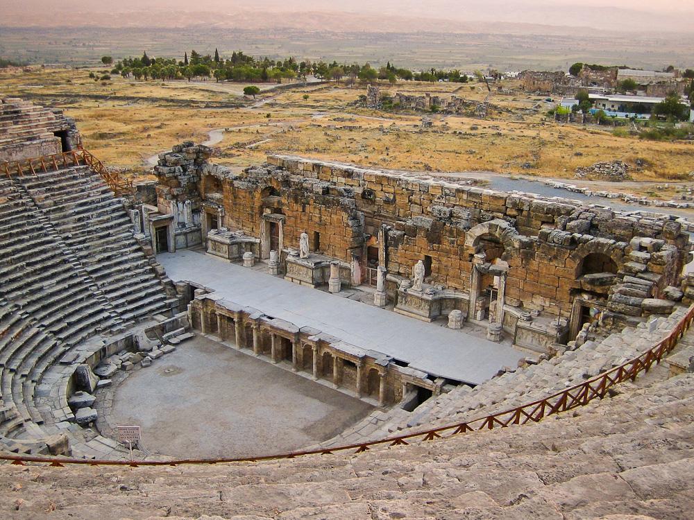 Teatro de Apolo en Hierápolis