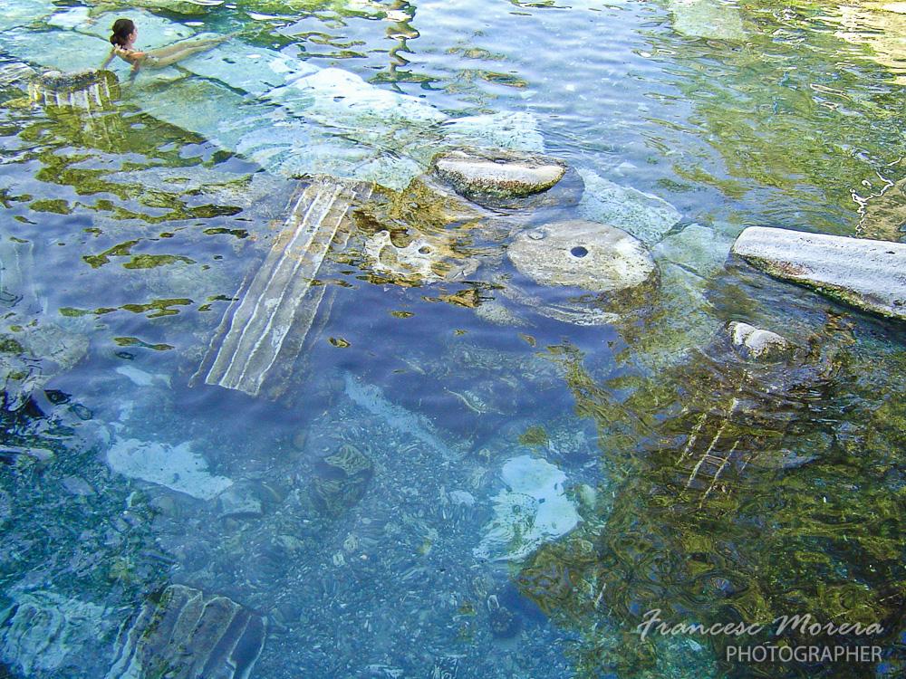 Restos romanos en Pamukkale