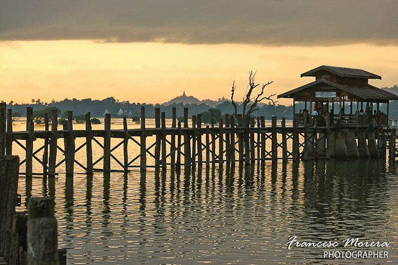 El puente U Bein. Myanmar