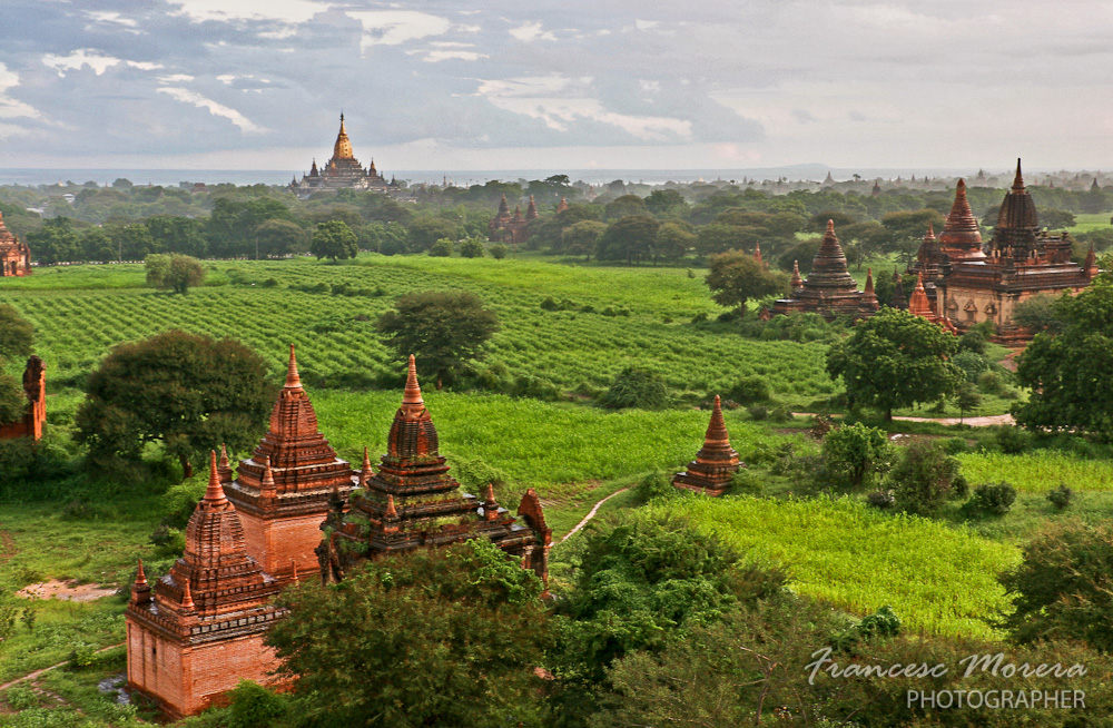 Views from Shwesandaw Paya