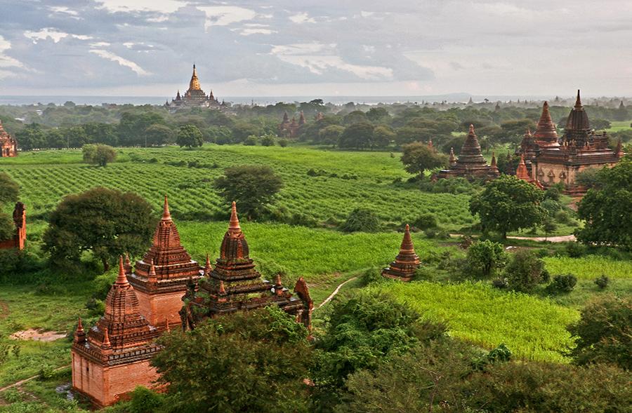 Views from Shwesandaw Paya 67