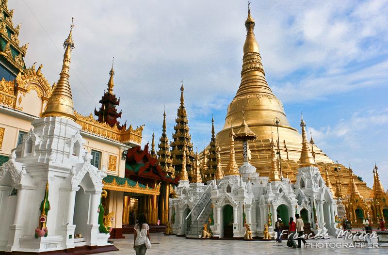 Shwedagon Pagoda. Yangon