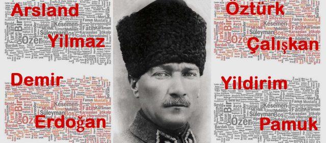 La ley de los apellidos en Turquía, ¿de dónde vienen los apellidos turcos?