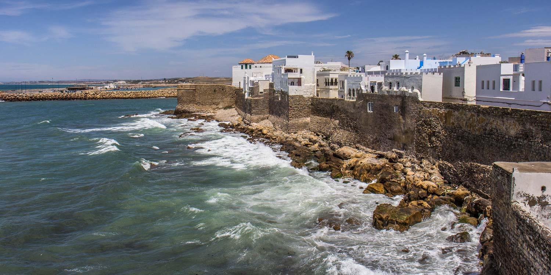 Asilah: la Medina mecida por el Atlántico