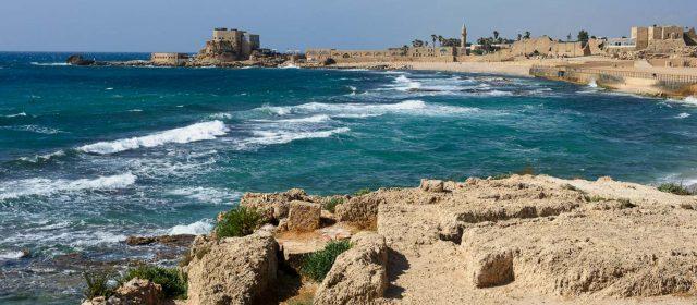 Cesarea Marítima, el Palacio junto al mar