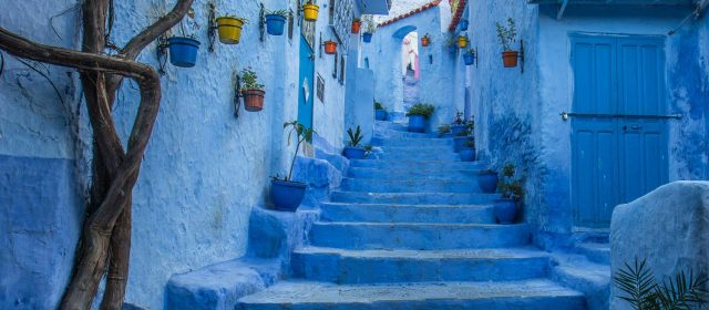 Chaouen, the blue town