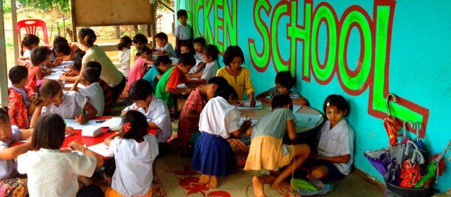 Colaboración española en Birmania
