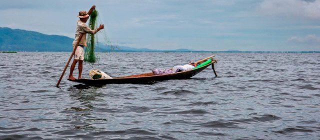 El Lago Inle, exótico oasis