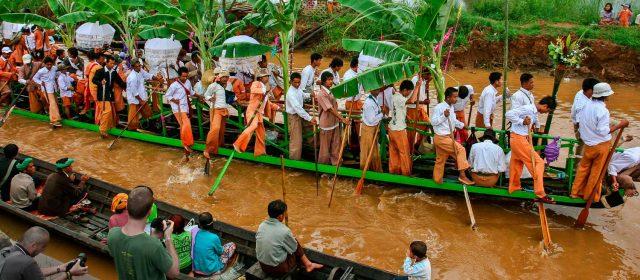 El Festival de Kandawgyi