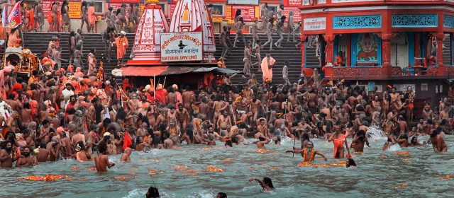 Kumbh Mela, the largest religious festival in the world.