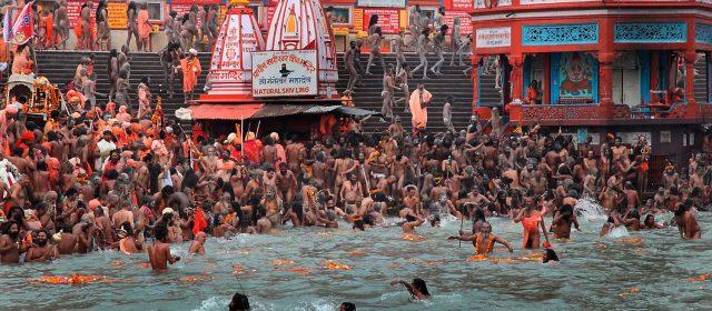 Kumbh Mela, el mayor festival religioso del mundo.