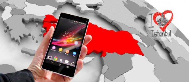 Como utilizar el móvil en Turquía