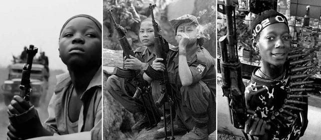 Niños soldado siguen perdiendo guerras