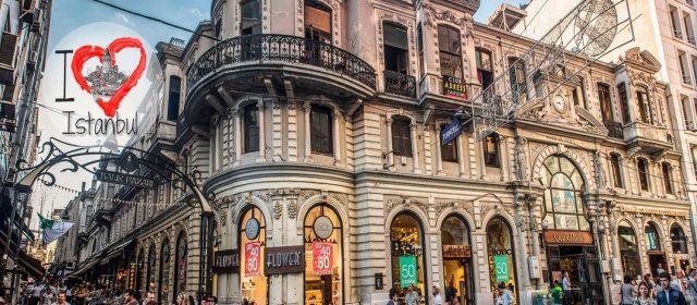 Pasajes históricos de Istiklal Caddesi