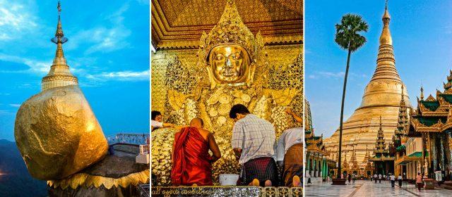 Peregrinos en Birmania: Pagoda Shwedagon