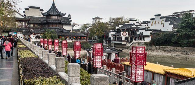 Qinhuai, el río de los emperadores, en Nanjing