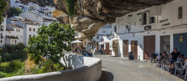 Setenil: a town where the sky is rock