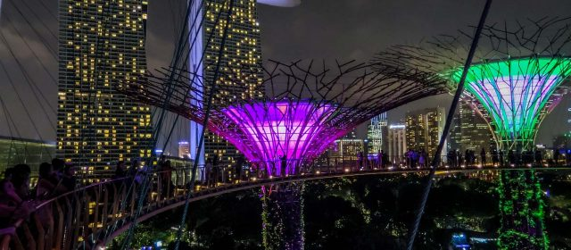 Gardens by the Bay, un inesperado toque de magia en Singapur