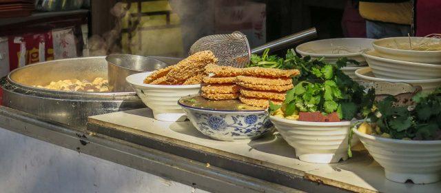 Street food en Nanjing