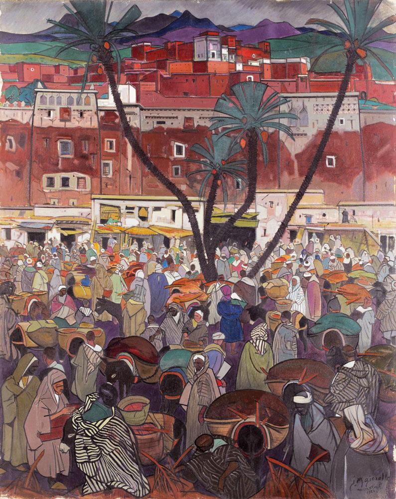 jacques-majorelle- la-kasbah-roja-1924