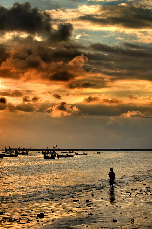 Playa de Jimabaran. Bali